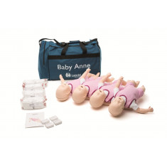 Baby Anne HLR-docka 0-1 år 4-pack NY version.